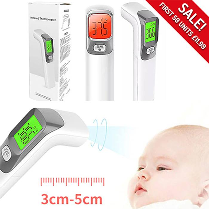 NextGen Non-Contact Thermometer with LCD Display