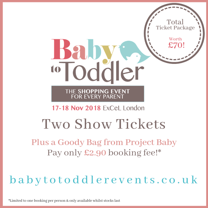 Baby to Toddler Show Tickets