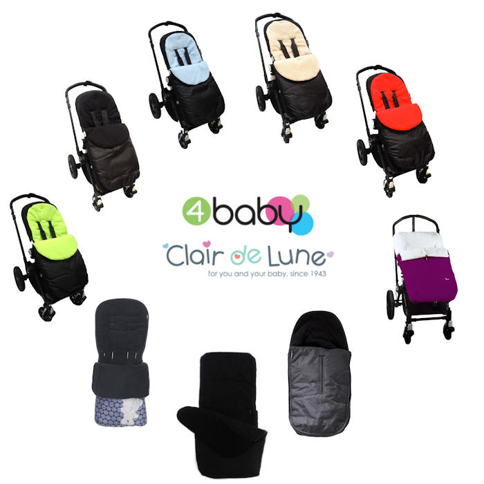 4Baby  Clair de Lune Universal Pushchair Footmuff