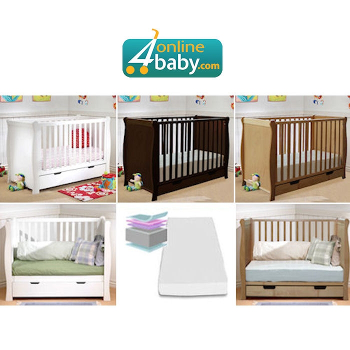 4Baby Sleigh Cot Bed