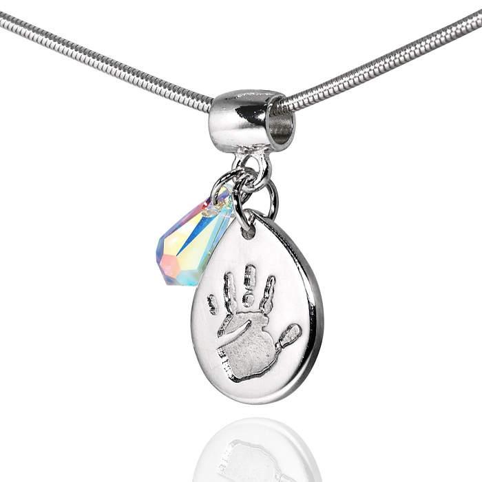 new handprint pendant