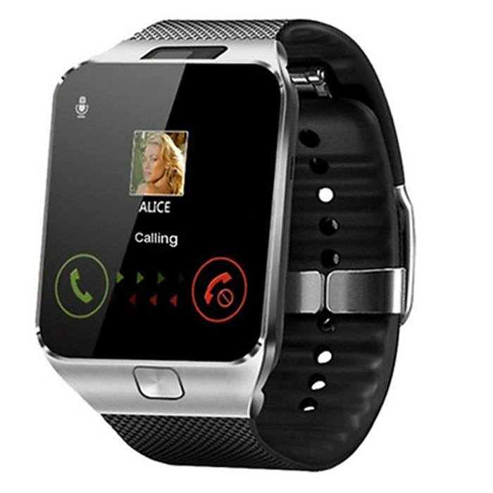 9-in-1 Touch Screen Smartwatch with Heart Rate Monitor & HD Camera - 4 Colours