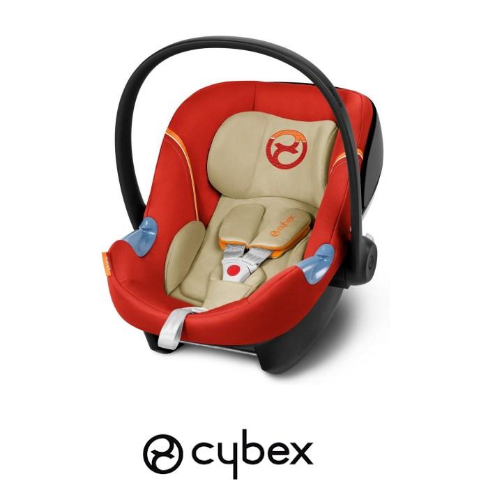 Cybex Aton M Gold Group 0+ Car Seat - Autumn Gold