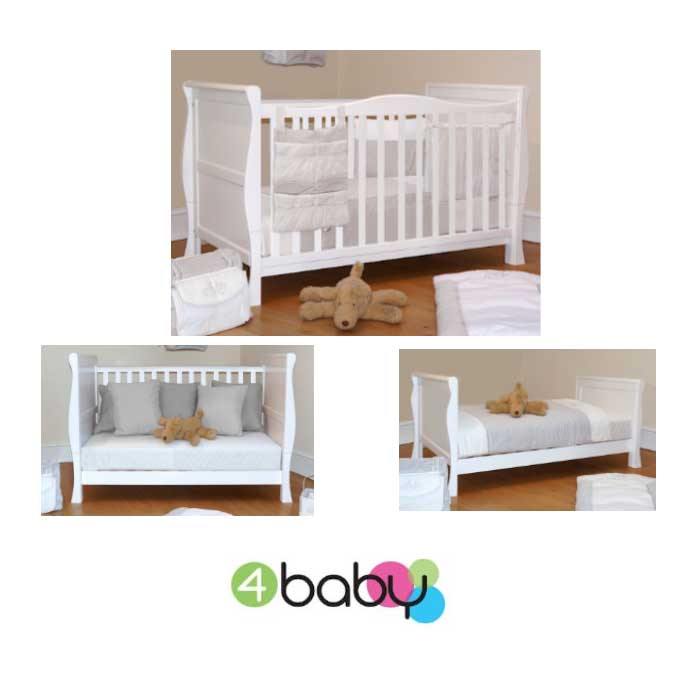 sleigh-cot-bed-white