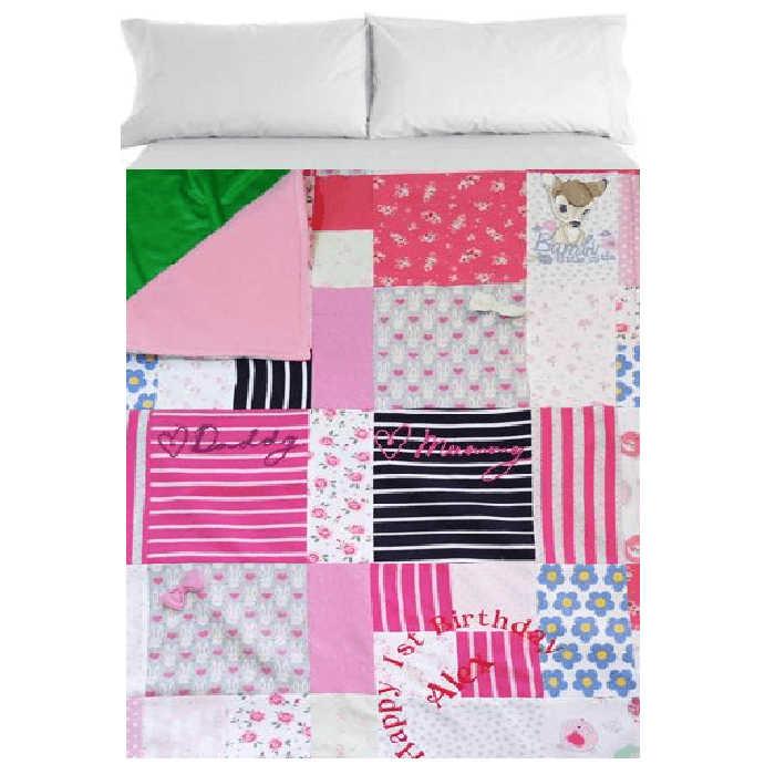 keepsake clothes blanket 4