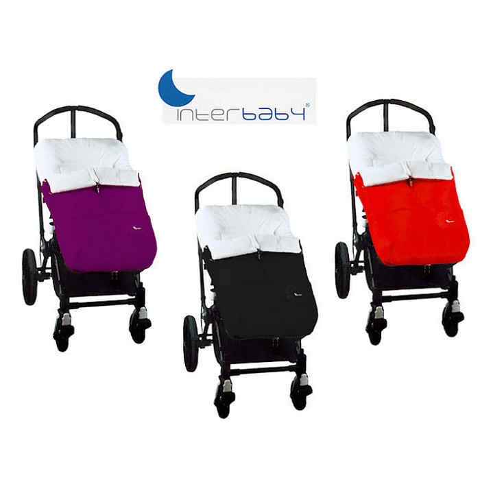 Interbaby Footmuff 3 colours
