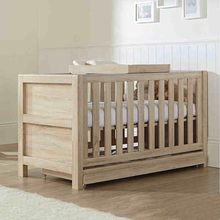 Tutti Bambini Milan Nursery Cot Bed Set - Reclaimed Oak
