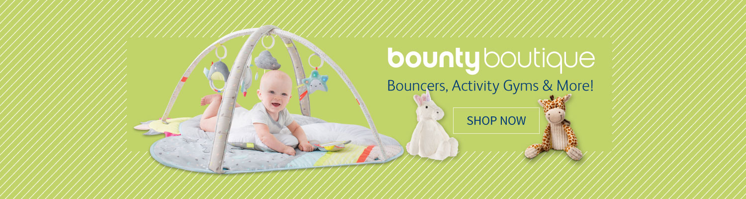 Shop bouncers, activity gyms at Bounty Boutique