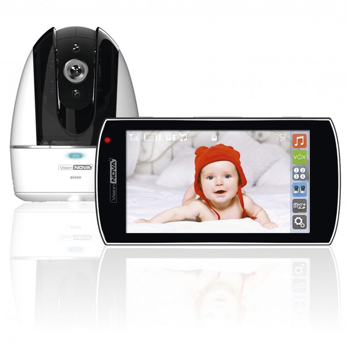 VisionNova8 Video Baby Monitor