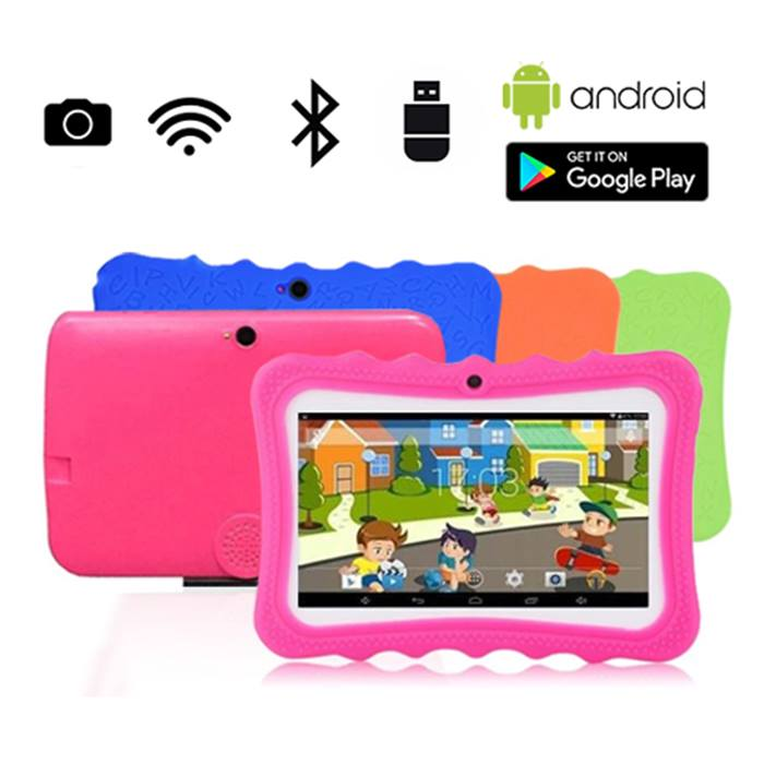 iPuppy Tablet With Bumper Case - 4 Colours