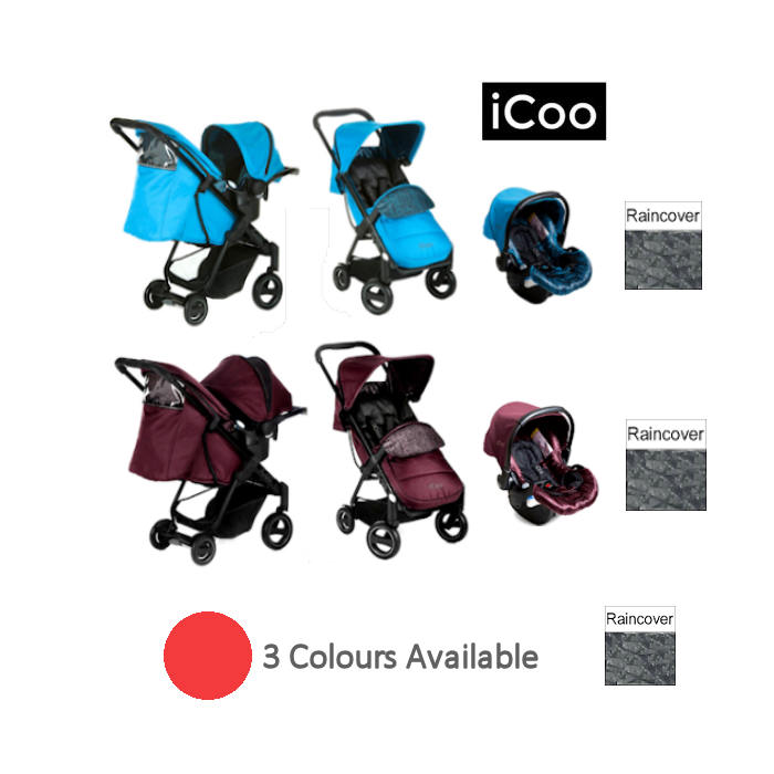 ICoo Acrobat Shop n Drive Travel System new
