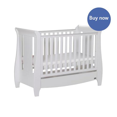 tutti bambini katie mini cot bed drawer