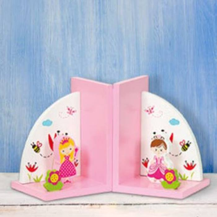TheBookPeople-Wooden-Princess-Bookend