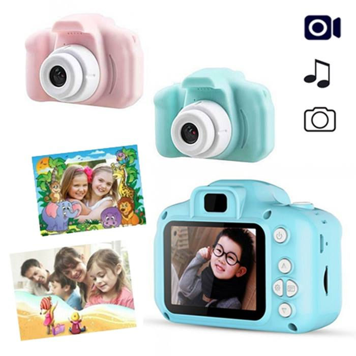 Mini Digital Kids' Camera With Optional 32GB or 64GB SD Card