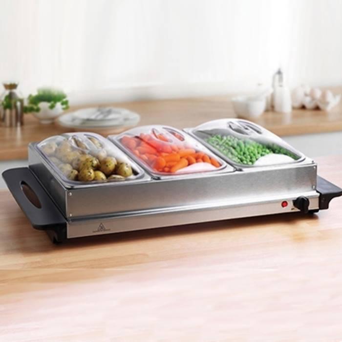 Hot Buffet Food Serving Tray - 1.3L or 2.4L