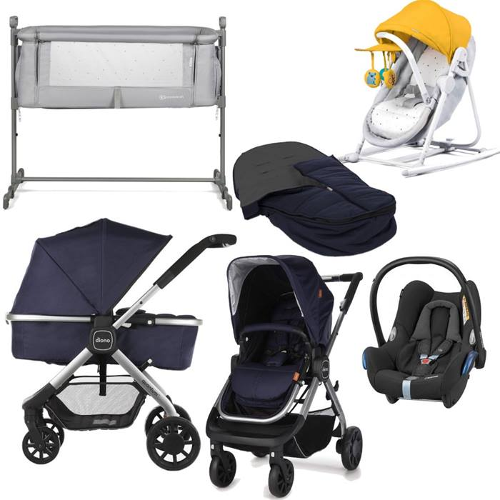 Diono Quantum Pushchair Bundle