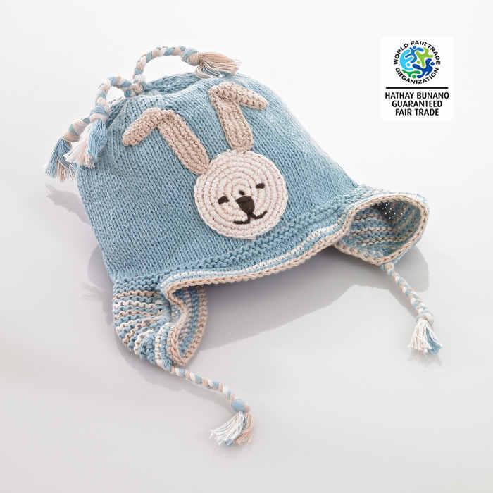 Hat bunny blue