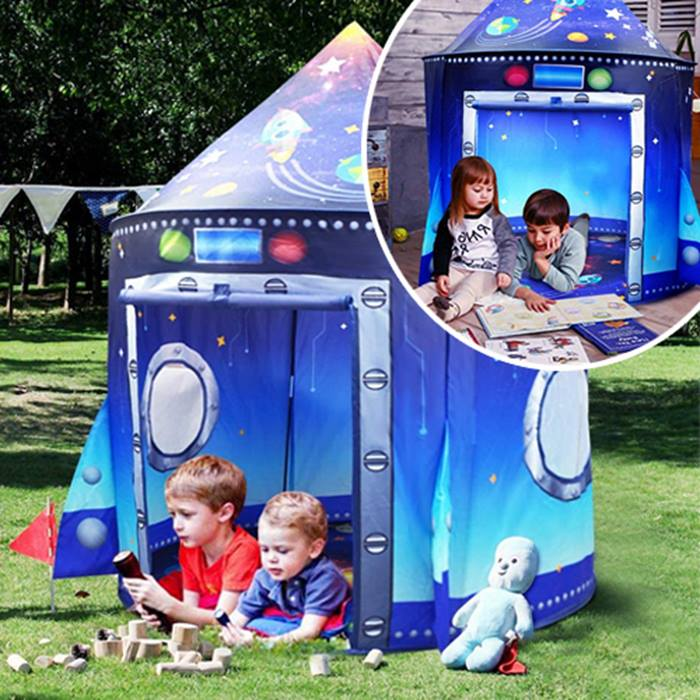 Kid's Space-Themed Play Tent