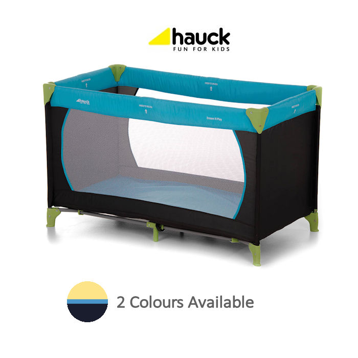 Hauck Deluxe Dream n Play Travel Cot  Playpen