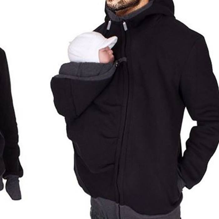 Unisex Kangaroo Hoodie Pouch For Your Baby