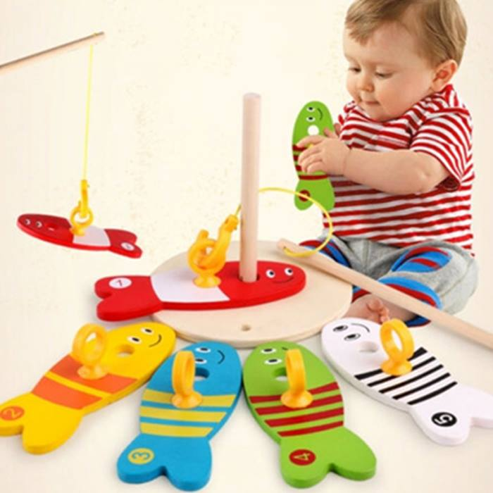 8-Piece Wooden Educational Kids' Toy