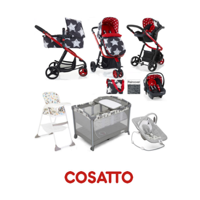Cosatto - Joie Giggle Everything You Need Hold Travel System Bundle - Hipstar