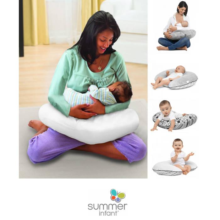 Summer Infant 4 in 1 Multi-Purpose Nursing Pregancy Pillow