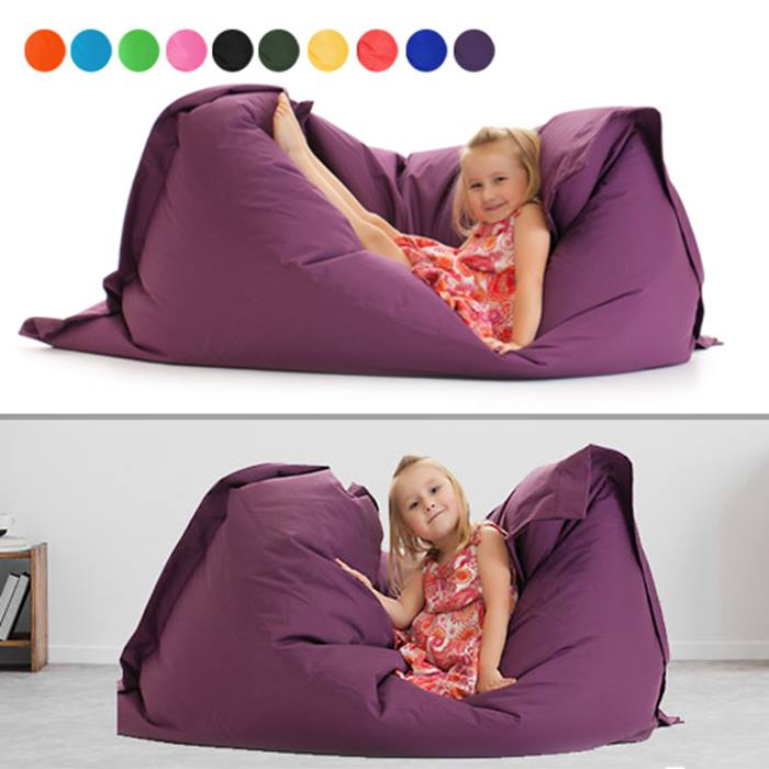 Indoor/Outdoor Beanbags for Kids & Adults - 11 Colours & 2 Sizes