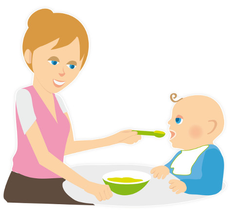 Learning to like new tastes and responsive feeding