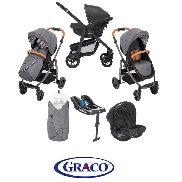 Graco Evo Avant Travel System & Base