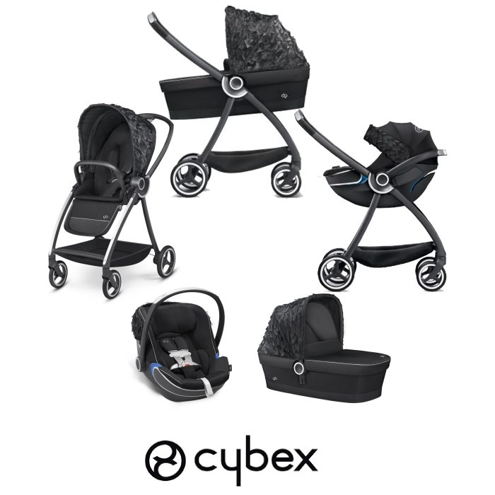 Cybex GB Maris FE Daydream (Bold) Travel System - Black