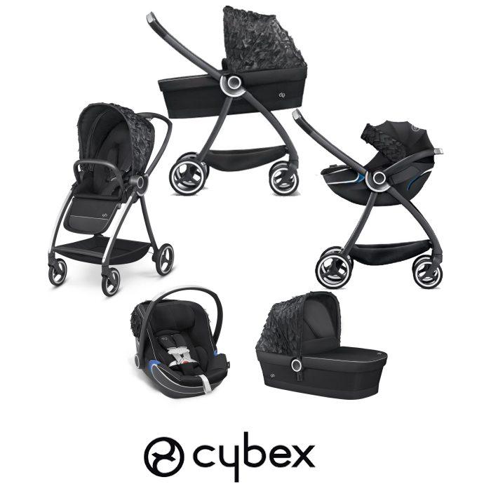 Cybex GB Maris FE Daydream (Bold) Travel System - Black