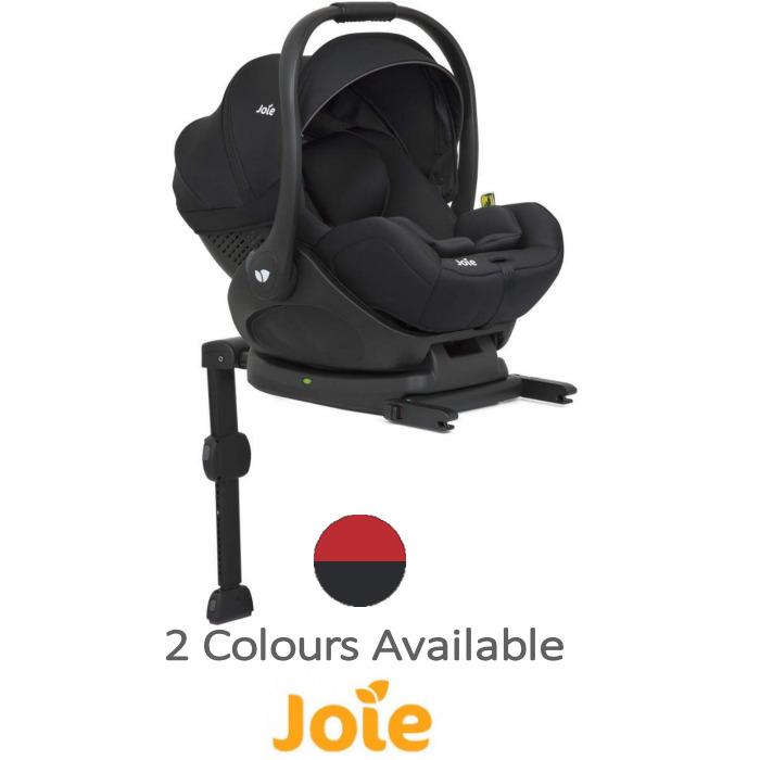 Joie i-Level (i-Size) 0+ Car Seat & Isofix Base