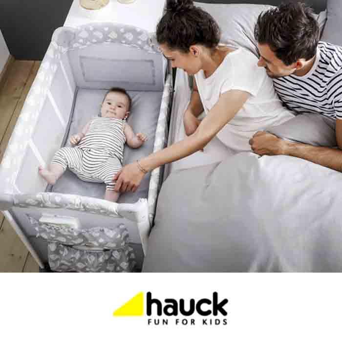 Hauck Sleep n Care Plus Travel Cot / Bedside Crib
