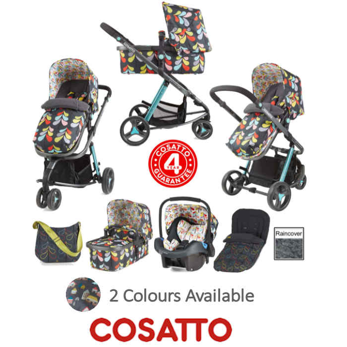 Cosatto Giggle 2 Combi 3 in 1 Travel System