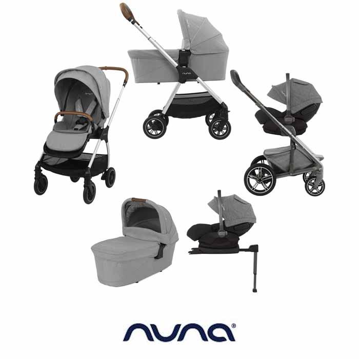 Nuna Triv (Arra) Travel System with ISOFIX Base & Carrycot