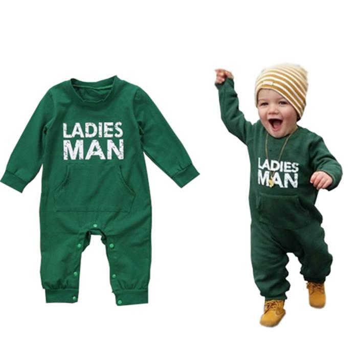 Ladies Man Romper