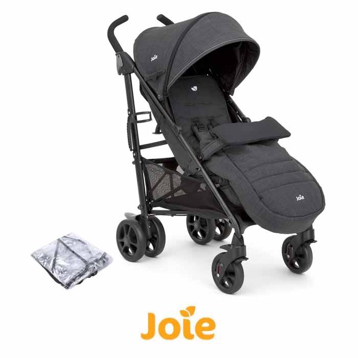 Joie Brisk LX Stroller / Pushchair With Footmuff