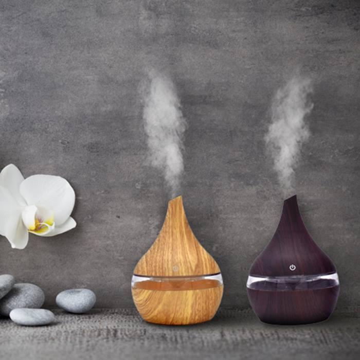 300ml HomeSpa Aroma Essential Oil Diffuser - 2 Colours
