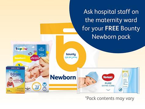 Newborn pack voucher