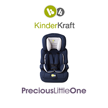 WIN 2 x KinderKraft Comfort Up Group Group 1,2,3 Car Seat (Navy) Worth £79.99 each