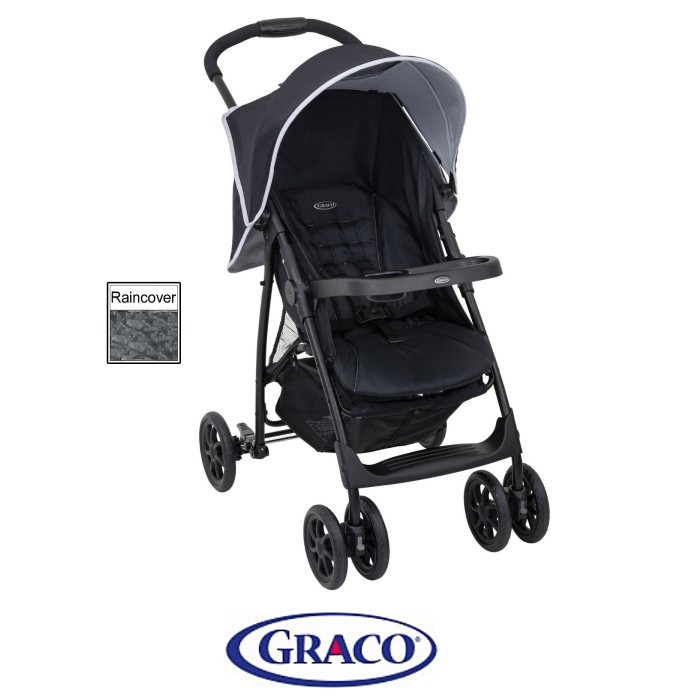 Graco Mirage Pushchair Stroller - Shadow