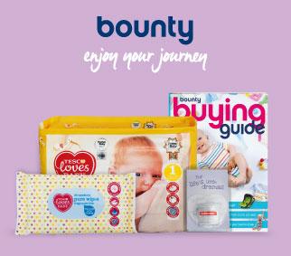 Tesco Bounty Mum to Be Pack