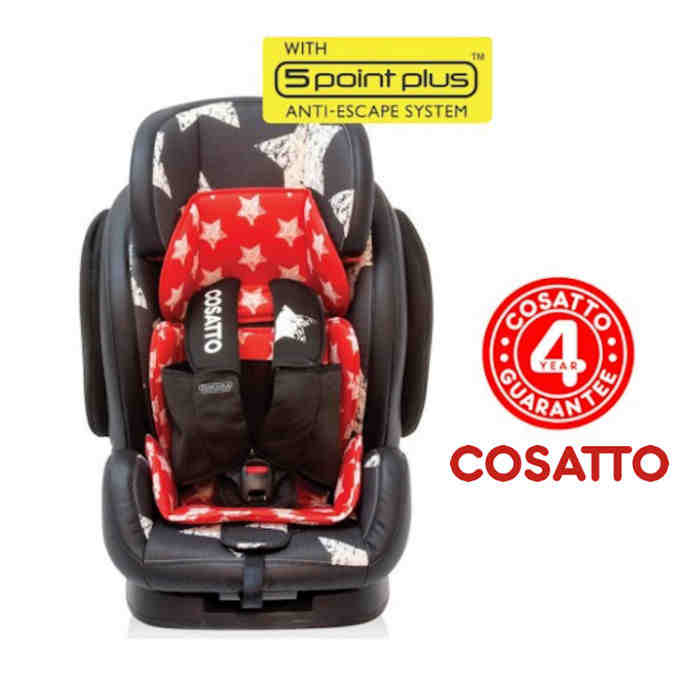 Cosatto Hug Group 123 Recline Car Seat - Hipstar