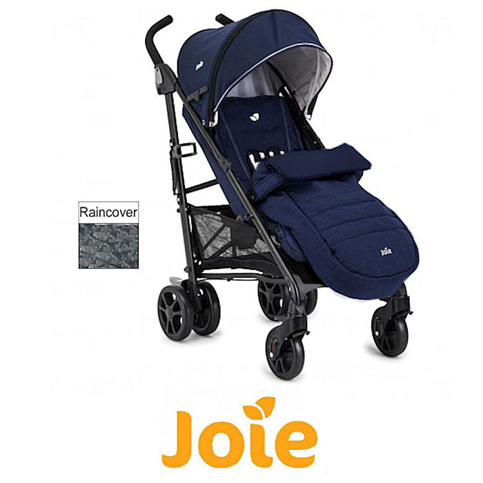 oie Brisk LX Stroller  Pushchair With Footmuff - Midnight Navy