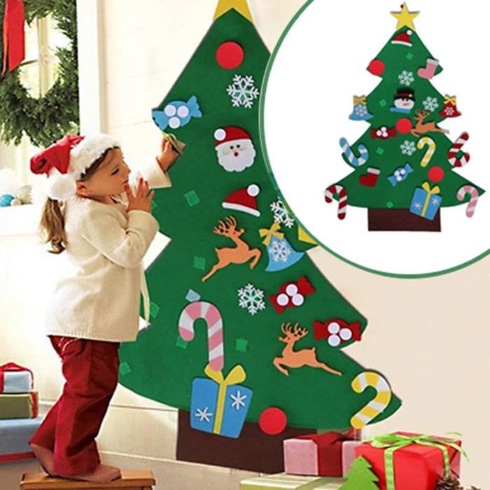 Velcro Christmas Tree