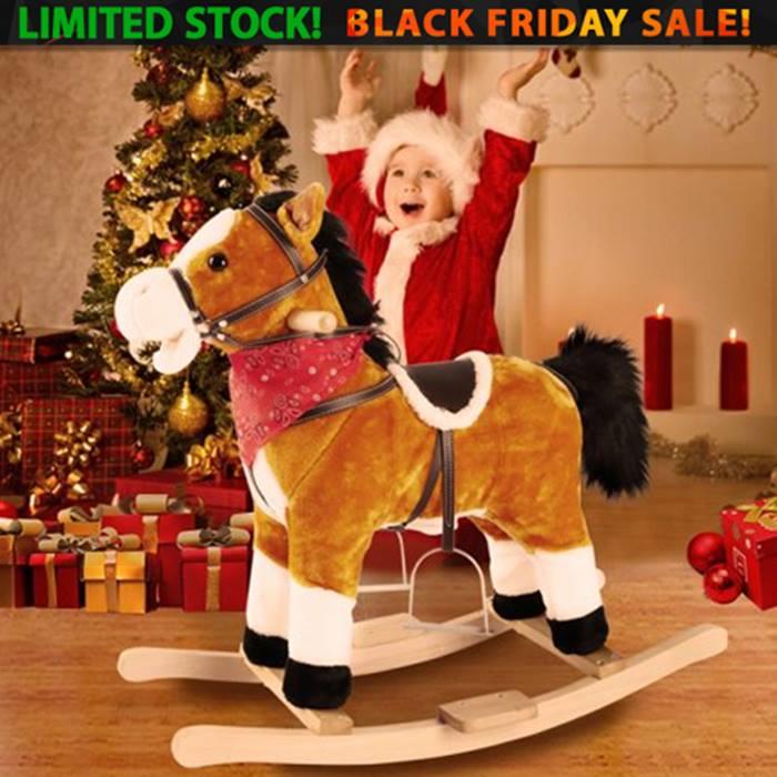 Plush Rocking Horse Toy