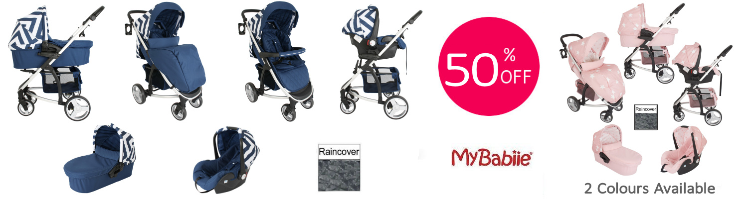 My Babiie MB200+ Travel System & Carrycot
