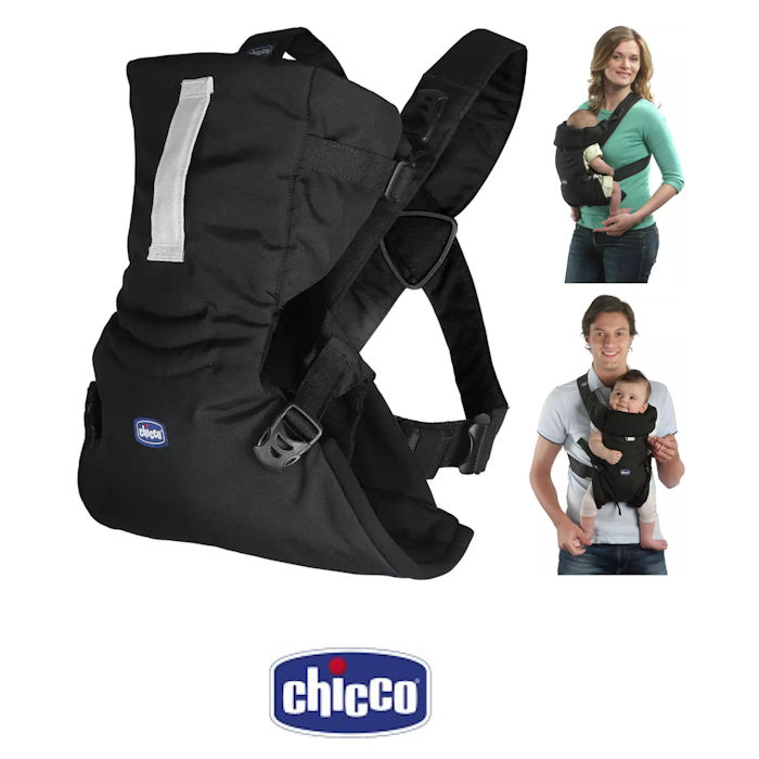 Chicco Easy Fit 3 Way Baby Carrier - Black Night