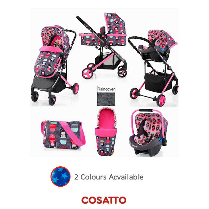 Cosatto Wish 2 in 1 Travel System